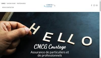 Site internet de Cmcg Courtage