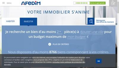 Site internet de Afedim