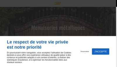 Site internet de Novalu-CMD 2