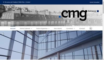 Site internet de Cmg Advisory