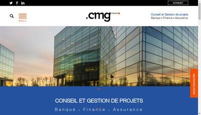 Site internet de Cmg Conseil