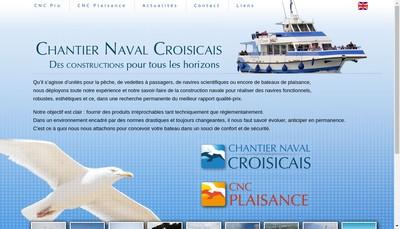 Site internet de Chantier Naval Croisicais