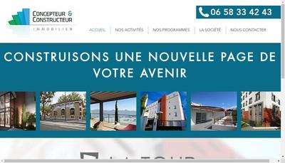 Site internet de Concepteur & Constructeur Immobilier