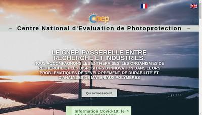 Site internet de Centre National d'Evaluation de Photoprotection