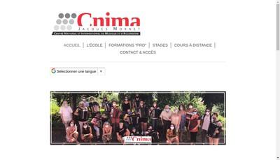 Site internet de Cnima J Mornet