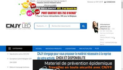 Site internet de Cnjy