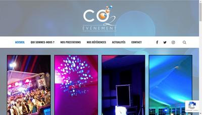 Site internet de SARL Co2