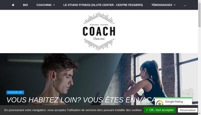 Site internet de Coach 33
