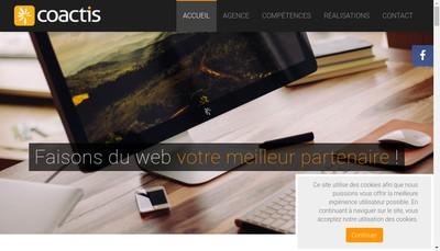 Site internet de Coactis