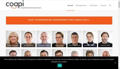 Site internet de Coapi