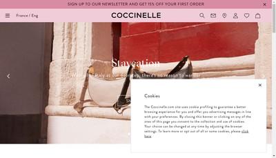 Site internet de Coccinelle