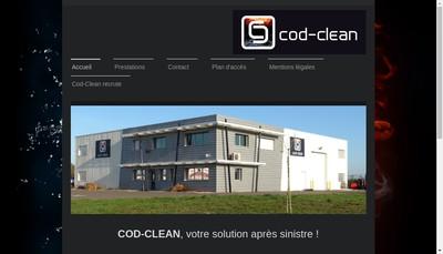 Site internet de Cod - Clean