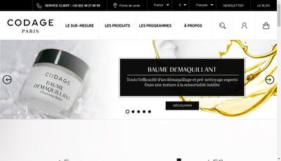 Site internet de Maison Codage Paris