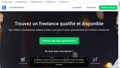 Site internet de Codeur