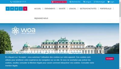 Site internet de Compagnie de Distribution Informatique