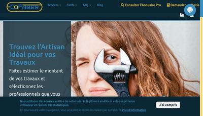 Site internet de Cofaber