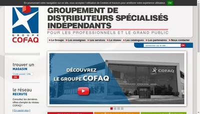 Site internet de Comptoir Francais de la Quincaillerie