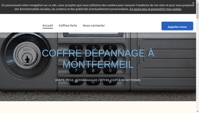Site internet de Coffre Depannage