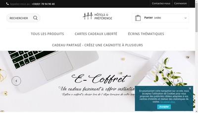Site internet de Hotels et Preference