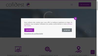 Site internet de Cofidest