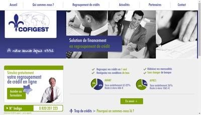 Site internet de Cofigest