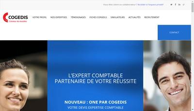 Site internet de Cogedis