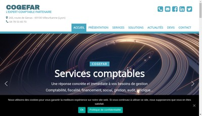 Site internet de Cogefar