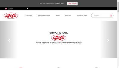 Site internet de Coges