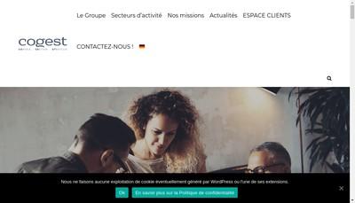 Site internet de Cogest
