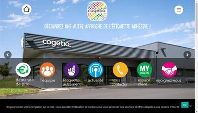 Site internet de Cogetiq