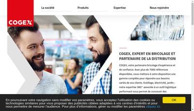 Site internet de Cogex