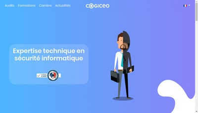 Site internet de Cogiceo