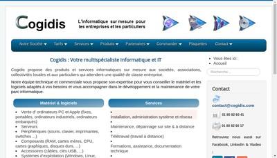 Site internet de Cogidis