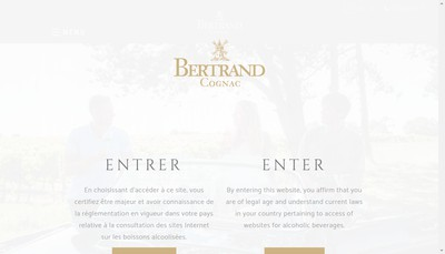 Site internet de SARL Bertrand et Fils