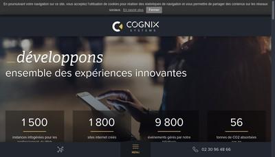 Site internet de Cognix Systems