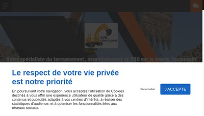 Site internet de Societe Cogo Louis
