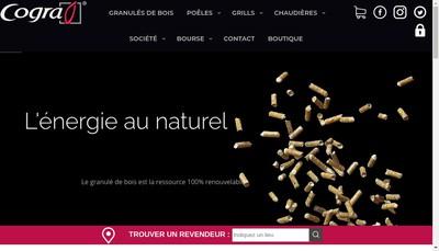 Site internet de Cogra SA