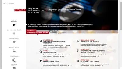 Site internet de Agence Cohda