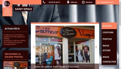 Site internet de Tristan Coiffure