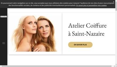 Site internet de Atelier Coiffure