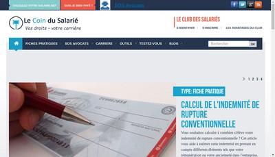 Site internet de Legal'Easy