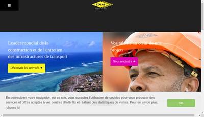 Site internet de Colas Nord-Est