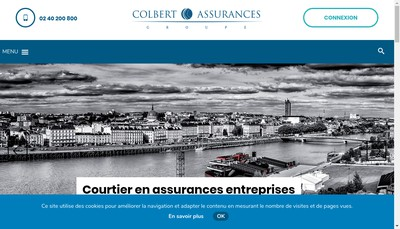 Site internet de Colbert Assurances