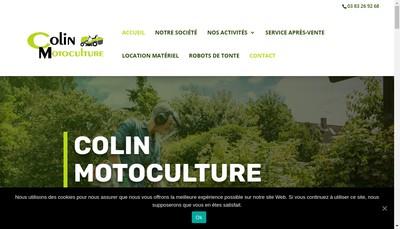 Site internet de Cmc Colin Motoculture Cyclo