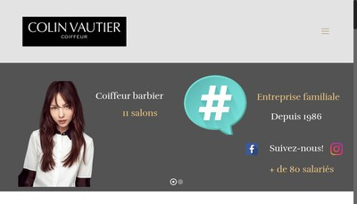 Site internet de Salon Colin-Vautier