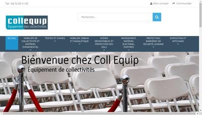 Site internet de Coll'Equip - Sinotec