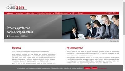 Site internet de Collecteam