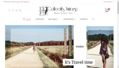 Site internet de Collectifs Vintage