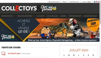 Site internet de Collectoys