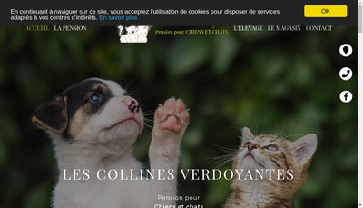 Site internet de Les Collines Verdoyantes